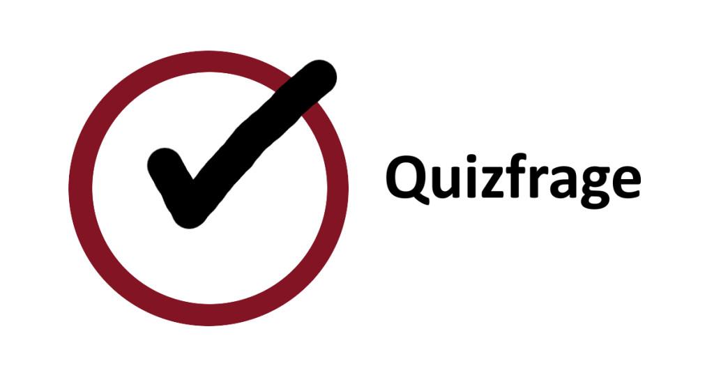 Quizfrage