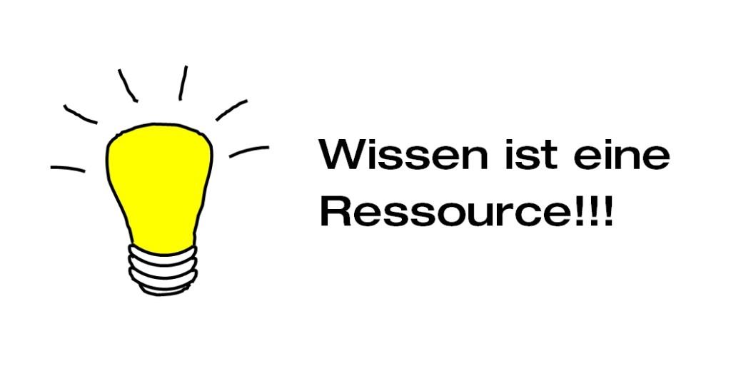 Wissen als Ressource